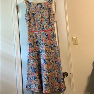 Liz Claiborne midi floral dress